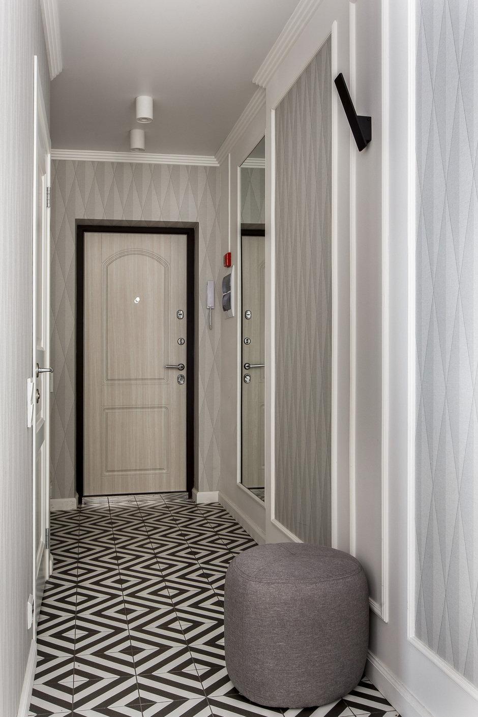 Фотография: Прихожая в стиле Современный, Квартира, Проект недели, Монолитный дом, 3 комнаты, 60-90 метров, Саратов, Quadrum Studio – фото на InMyRoom.ru