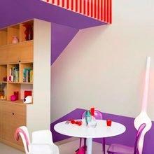 Фотография:  в стиле Современный, Декор интерьера, Дизайн интерьера, Цвет в интерьере, Желтый, Розовый, Оранжевый, Неон – фото на InMyRoom.ru