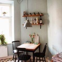 Фотография: Кухня и столовая в стиле Скандинавский, Мебель и свет, Советы, Ремонт на практике – фото на InMyRoom.ru