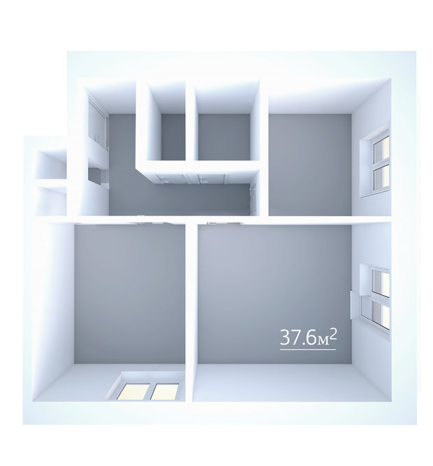Фотография: Прочее в стиле , Блочный дом, И-209 – фото на InMyRoom.ru