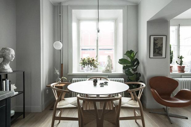 Фотография:  в стиле , Скандинавский, Декор интерьера, Малогабаритная квартира, Квартира, Студия, до 40 метров, Дорого и бюджетно – фото на InMyRoom.ru