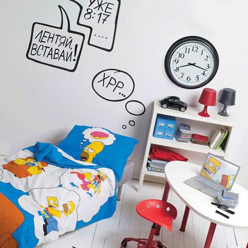 Фотография: Детская в стиле Скандинавский, Современный, Эклектика, Интерьер комнат, Часы – фото на INMYROOM