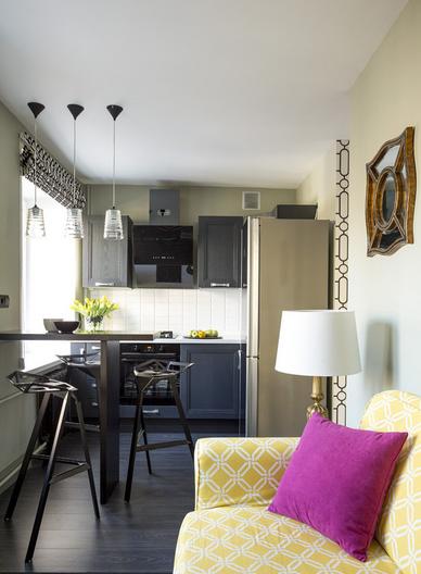 Маленькая и узкая кухня