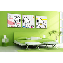 Декоративная картина на холсте: Снупи