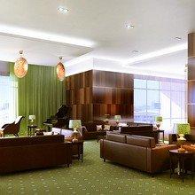 Фото из портфолио Отель на Дмитровском шоссе — Лобби арт-деко. – фотографии дизайна интерьеров на INMYROOM