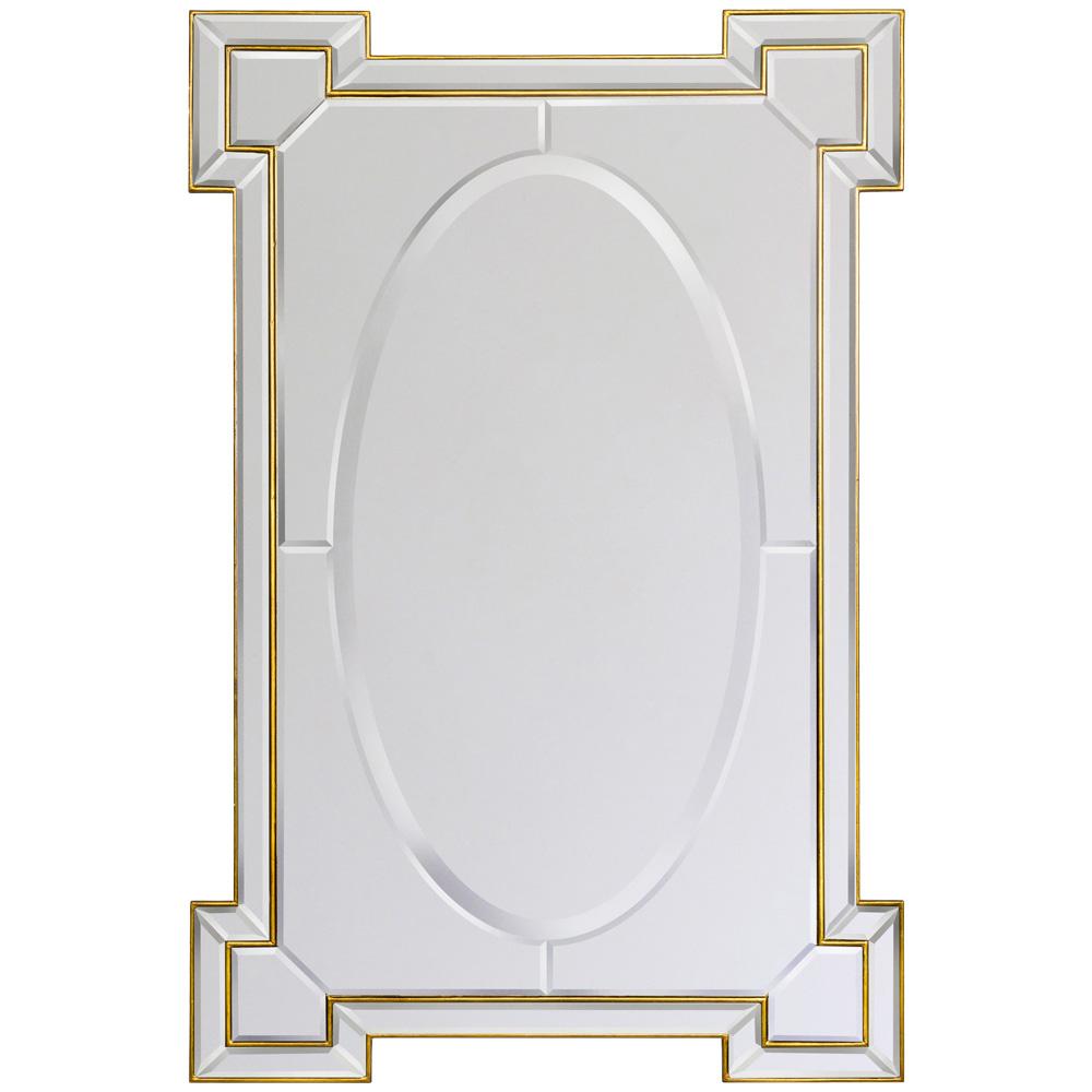 Купить Настенное зеркало камелот в раме золотого цвета, inmyroom, Россия