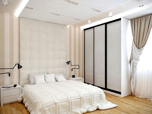 Фотография: Спальня в стиле Лофт, Современный, Декор интерьера, Декор дома, Обои – фото на InMyRoom.ru