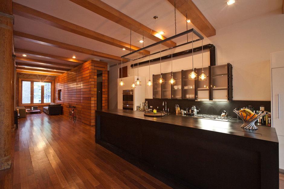 Фотография: Кухня и столовая в стиле Лофт, Квартира, Дома и квартиры, Проект недели – фото на InMyRoom.ru