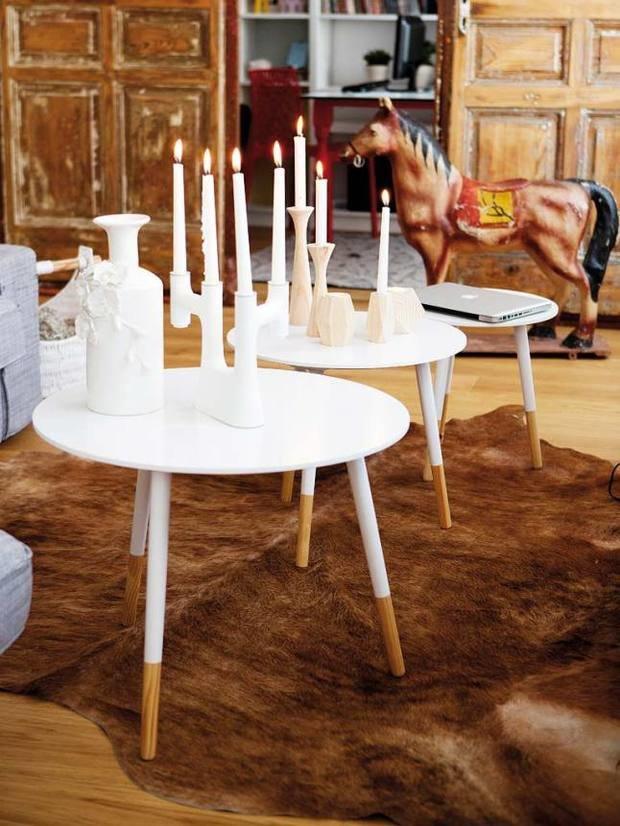 Фотография: Мебель и свет в стиле Прованс и Кантри, Скандинавский,  – фото на InMyRoom.ru