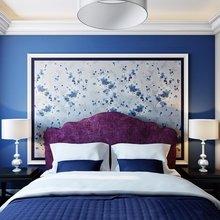 Фотография: Спальня в стиле Современный, Квартира, Цвет в интерьере, Дома и квартиры, Белый, Красный, Серый – фото на InMyRoom.ru