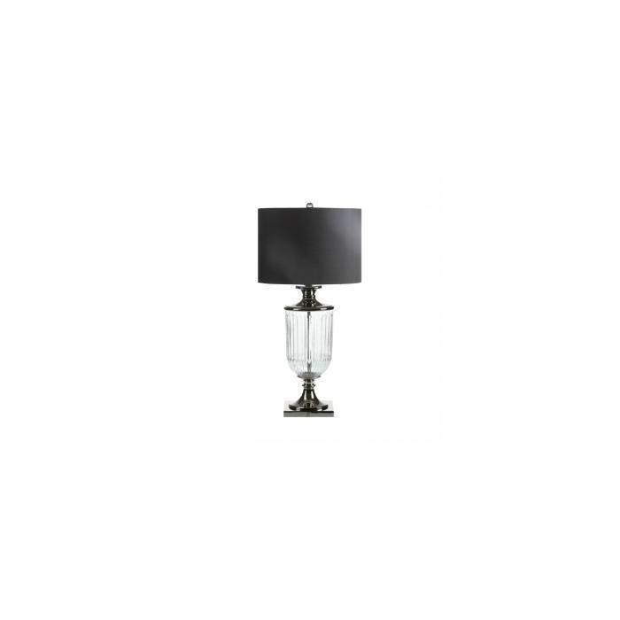 Лампа Glass & metal lamp