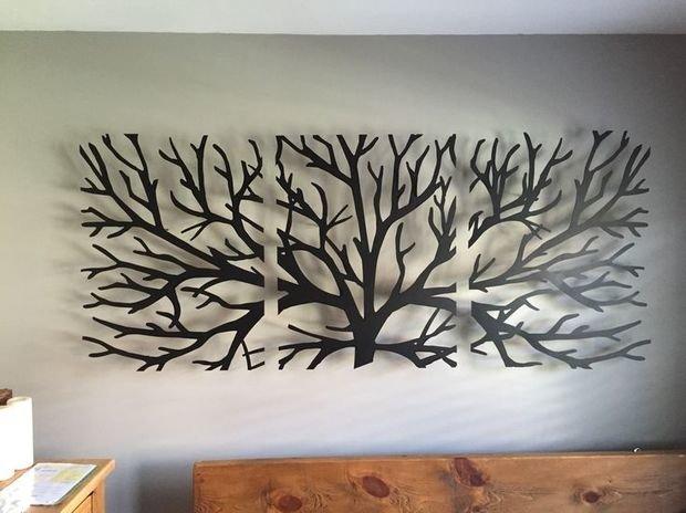 Создадим креативные элементы декора на стену!