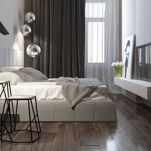 Фотография: Спальня в стиле Минимализм – фото на InMyRoom.ru