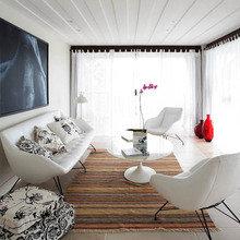 Фотография: Гостиная в стиле Минимализм, Дома и квартиры, Городские места, Отель, Бразилия – фото на InMyRoom.ru