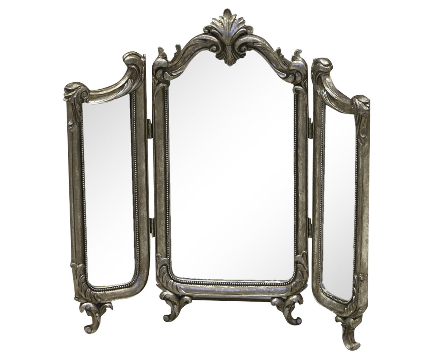 Зеркало трехстворчатое из полистоуна