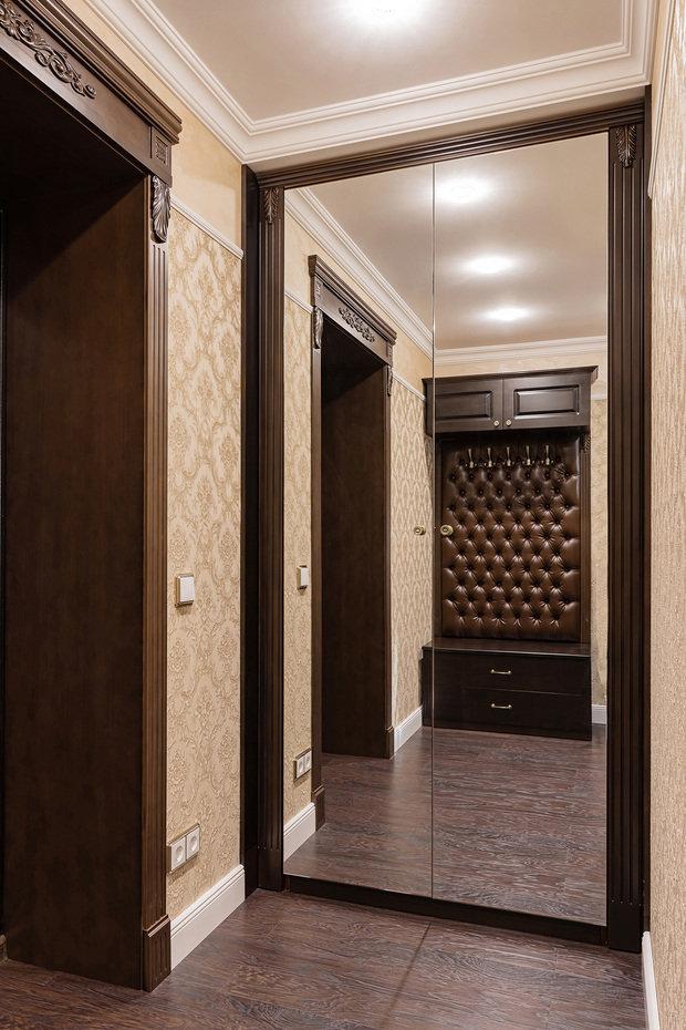 Фото из портфолио Реализованный проект квартиры 48,2кв.м. – фотографии дизайна интерьеров на INMYROOM
