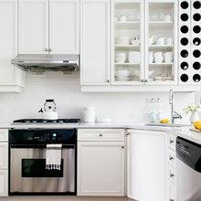 Фотография: Кухня и столовая в стиле Классический, Современный, Декор интерьера, Дом, Цвет в интерьере, Дома и квартиры, Желтый – фото на InMyRoom.ru
