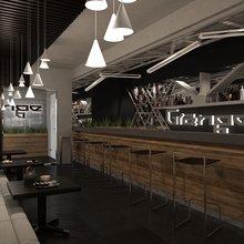 Фото из портфолио Ресторан Гранж – фотографии дизайна интерьеров на InMyRoom.ru
