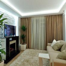 Фото из портфолио Однокомнатная квартира в типовом доме П44-Т – фотографии дизайна интерьеров на INMYROOM