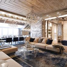 Фото из портфолио Мансардная квартира в Санкт-Петербурге  – фотографии дизайна интерьеров на INMYROOM