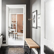 Фото из портфолио  Розовая крошечная квартира в Стокгольме – фотографии дизайна интерьеров на INMYROOM