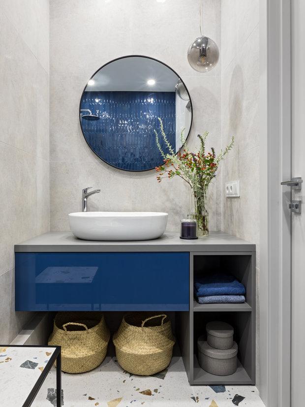 Фотография: Ванная в стиле Современный, Квартира, Проект недели, Минск, 2 комнаты, 60-90 метров, Студия Blackdot – фото на INMYROOM