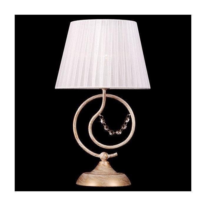 Настольная лампа Eurosvet с белым абажуром