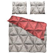 """Комплект постельного белья """"Оригами"""" красный 200х220"""