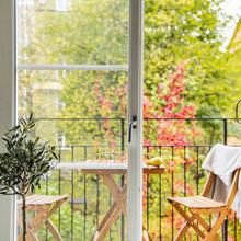 Фотография: Балкон в стиле Скандинавский, Декор интерьера, Малогабаритная квартира, Квартира – фото на InMyRoom.ru