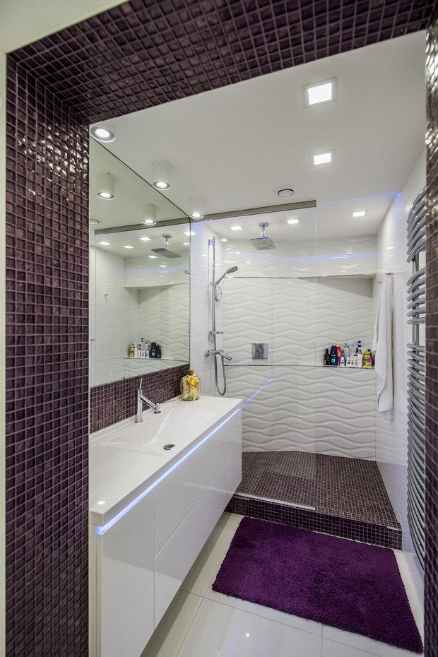 Фотография: Ванная в стиле Хай-тек – фото на INMYROOM