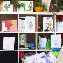 Фото из портфолио Обои-раскраски «Ирина» – фотографии дизайна интерьеров на InMyRoom.ru