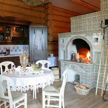 Фотография: Кухня и столовая в стиле Кантри, Декор интерьера, Мебель и свет, Деревенский – фото на InMyRoom.ru