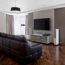 Фотография: Гостиная в стиле Современный, Квартира, Проект недели, новостройка – фото на InMyRoom.ru