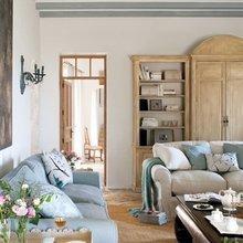Фотография: Гостиная в стиле Кантри, Кухня и столовая, Дом, Испания, Дома и квартиры – фото на InMyRoom.ru