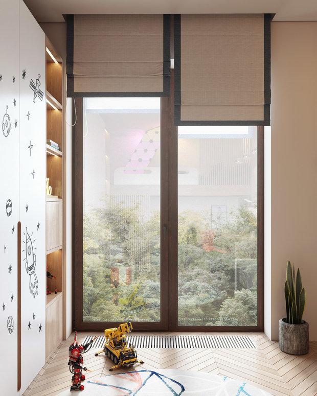 Фото из портфолио Современный 152 метра – фотографии дизайна интерьеров на INMYROOM