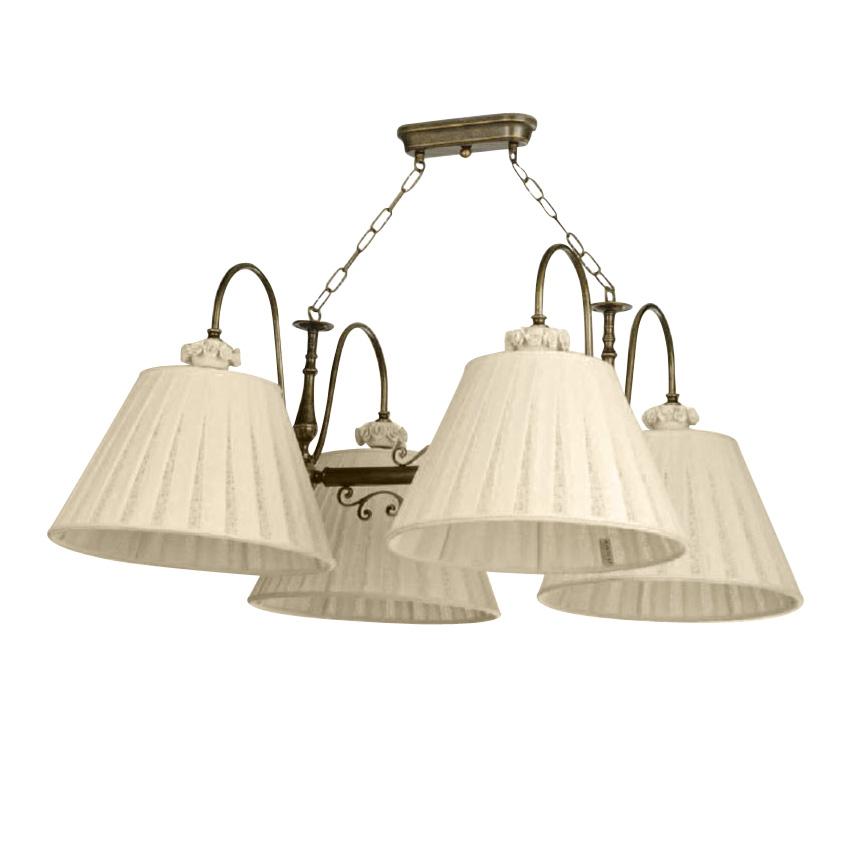 Подвесной светильник Jago Porcellanaс абажурами цвета слоновая кости