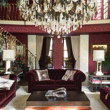 Фотография: Гостиная в стиле Классический, Декор интерьера, Дизайн интерьера, Марат Ка, Декоративная штукатурка, Альтокка – фото на InMyRoom.ru