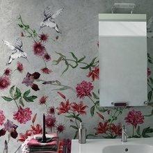 Фотография: Ванная в стиле Кантри, Декор интерьера, Декор дома, Обои, Стены, Картины, Принт, Панно, Roommy.ru – фото на InMyRoom.ru