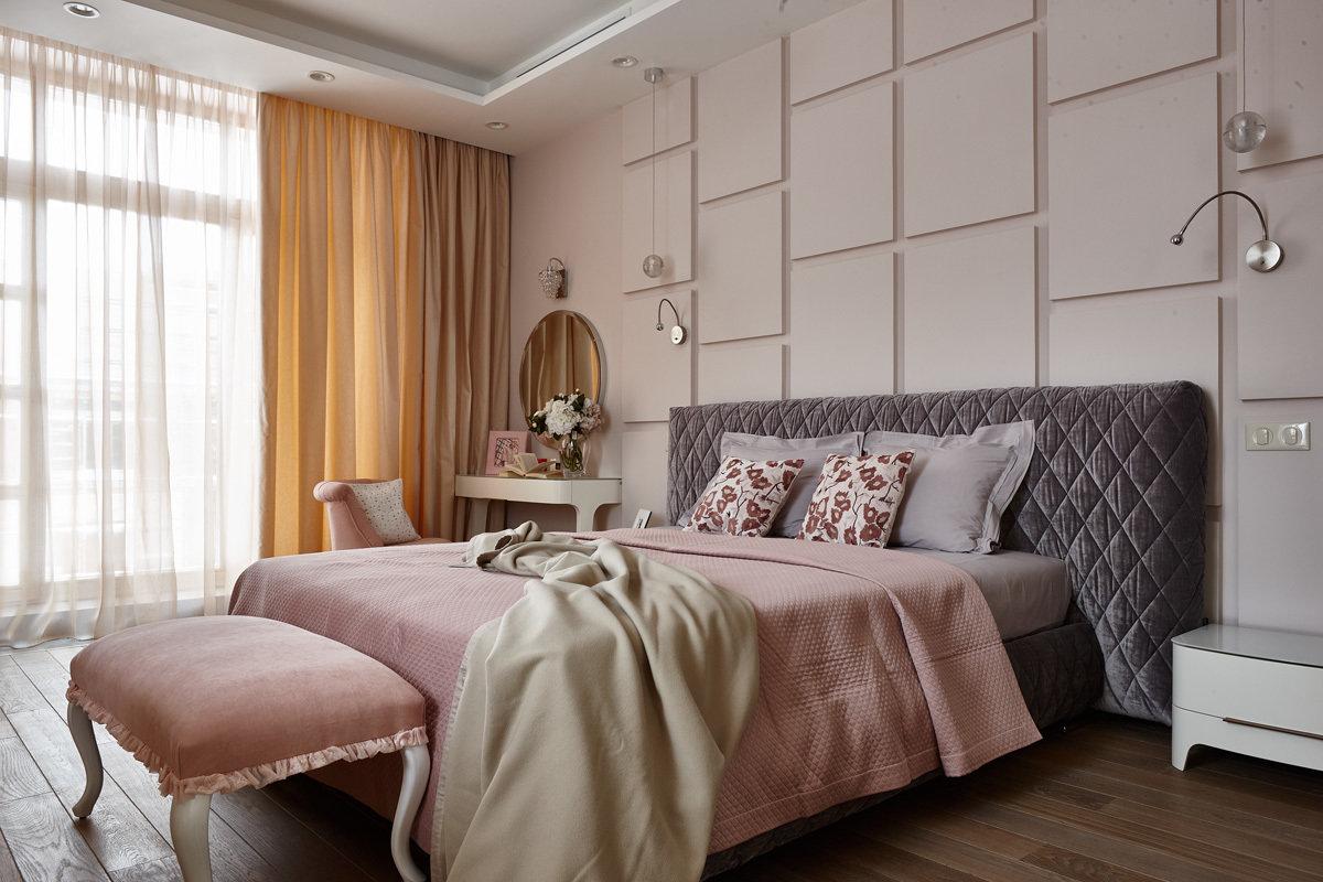 Дизайн современной спальная комната