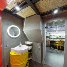Фотография: Ванная в стиле Лофт, Квартира, Проект недели, Санкт-Петербург, Макс Жуков, Старый фонд, ToTaste Studio – фото на InMyRoom.ru