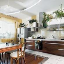 Фотография: Кухня и столовая в стиле Классический, Современный, Хай-тек, Декор интерьера, DIY, Интерьер комнат, Текстиль, Тема месяца – фото на InMyRoom.ru
