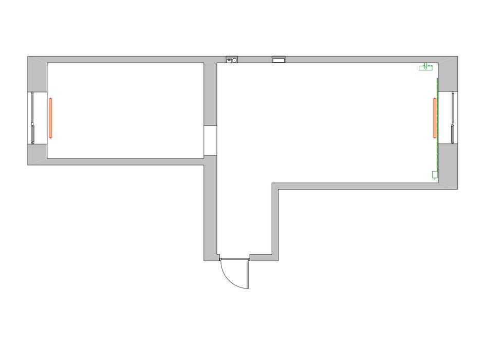 Фотография: Планировки в стиле , Квартира, Цвет в интерьере, Дома и квартиры, Белый, Проект недели – фото на InMyRoom.ru