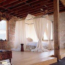 Фотография: Спальня в стиле Кантри, Восточный, Гостиная, Интерьер комнат – фото на InMyRoom.ru