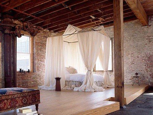 Фотография: Спальня в стиле Прованс и Кантри, Восточный, Гостиная, Интерьер комнат – фото на InMyRoom.ru