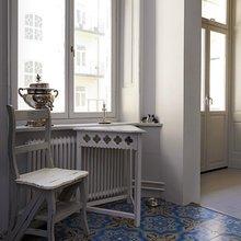 Фотография: Прихожая в стиле Кантри, Декор интерьера, Декор дома, Плитка, Ремонт на практике – фото на InMyRoom.ru