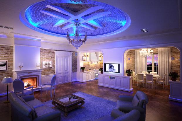 Фотография: Гостиная в стиле Прованс и Кантри, Классический, Лофт, Современный, Декор интерьера, Мебель и свет – фото на InMyRoom.ru
