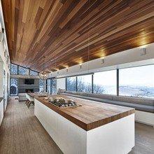 Фото из портфолио Лыжное шале в Квебеке – фотографии дизайна интерьеров на InMyRoom.ru