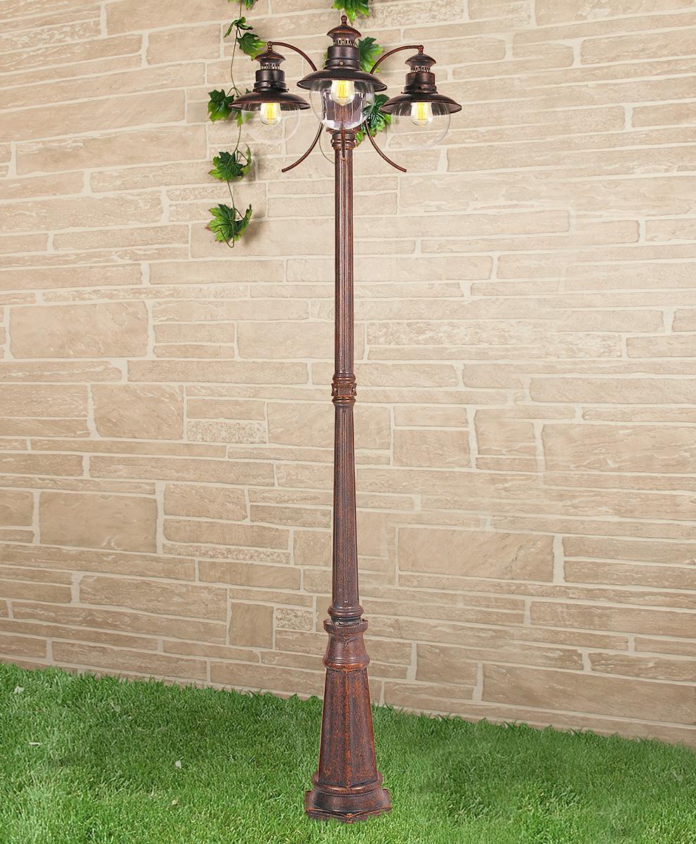 Садово-парковый cветильник Elektrostandard Talli брауни