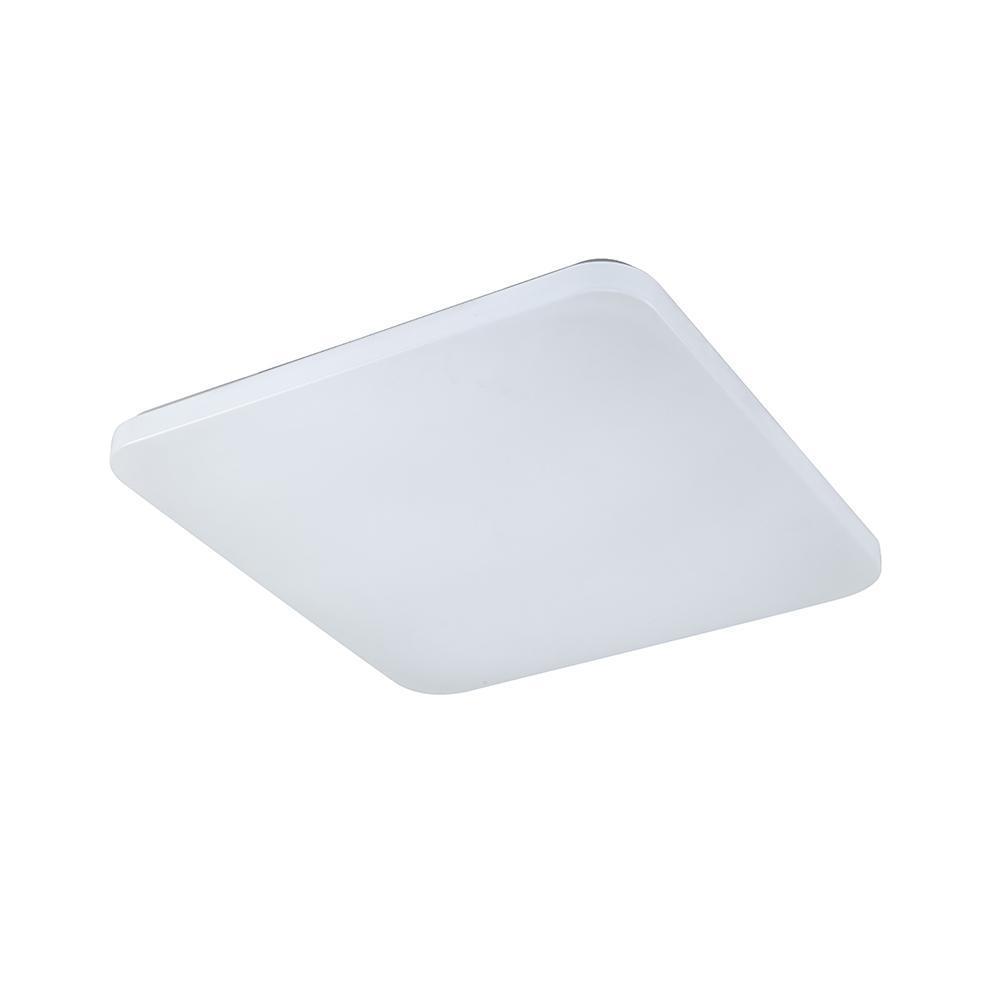 Потолочный светодиодный светильник Quatro ii белого цвета