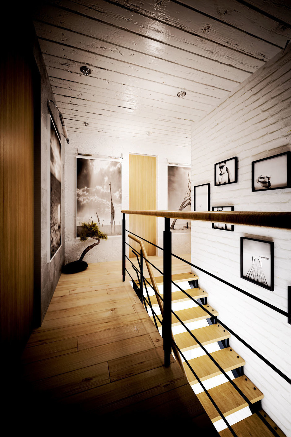 Фотография: Прихожая в стиле Прованс и Кантри, Лофт, Квартира, Дом, Дома и квартиры, Проект недели – фото на InMyRoom.ru